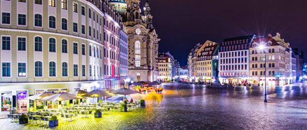 Spannende Nächte in Dresden